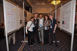 Our team on the Poster Session